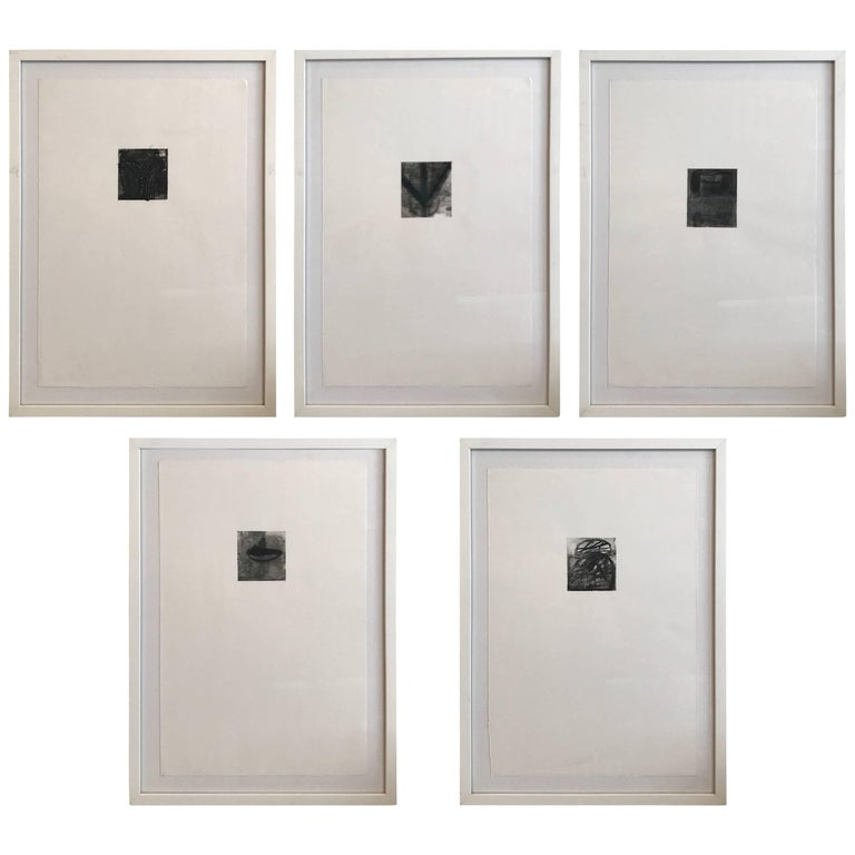 Collection of Two Drawings by Dave Zarick For Sale