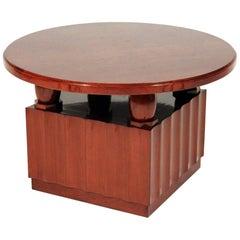 Art Deco Table Designed by Jules Deroubaix