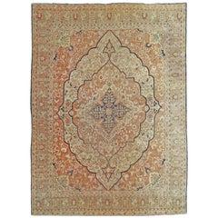 Antique Tabriz 'Hadji Jalili' Carpet