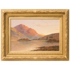 Loch Awe, Scotland, Original Oil on Canvas Painting