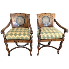 Pair of Anglo-Portuguese Armchairs