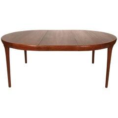 Ib Kofod Larsen Danish Teak Extension Dining Table Round or Oval