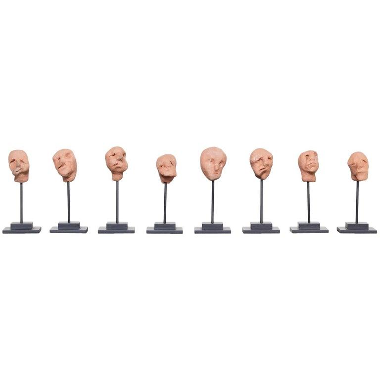 """""""Untitled"""" Head Sculpture by Artist Sam Stewart"""