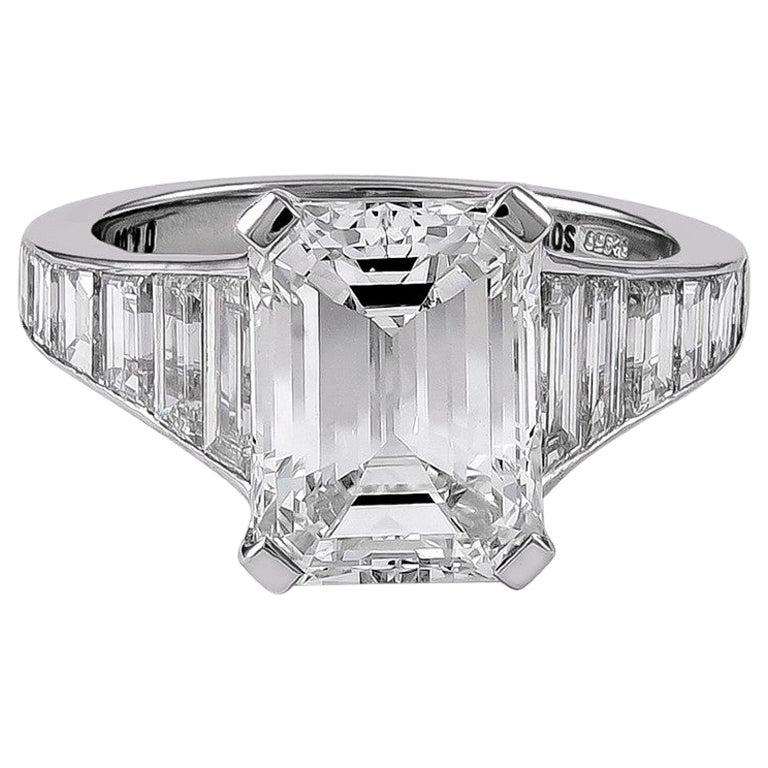 GIA Certified 6.04 Carat Diamond Engagement Ring