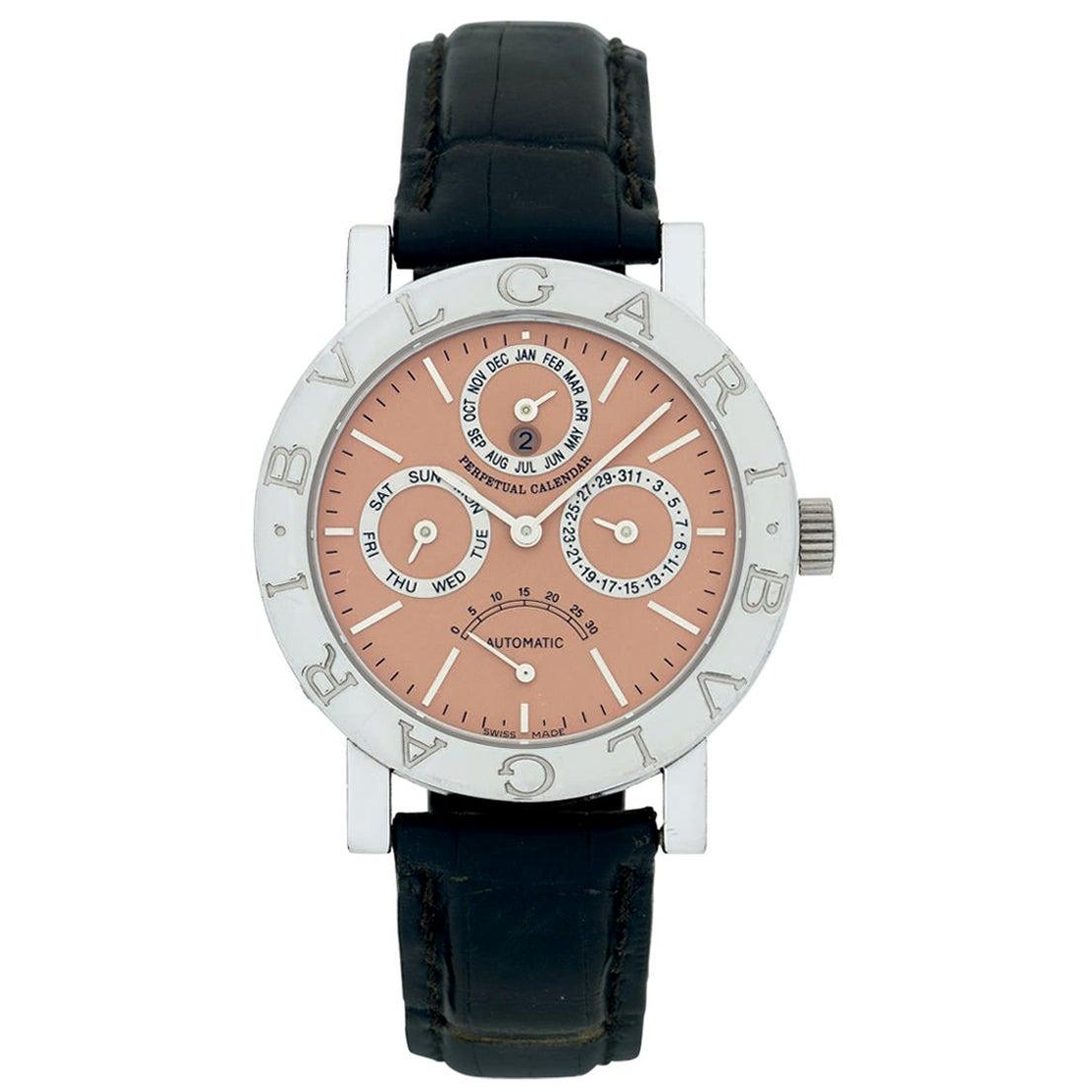 Bulgari Bvlgari Limited Edition Platinum Perpetual Calendar Power Reserve Watch