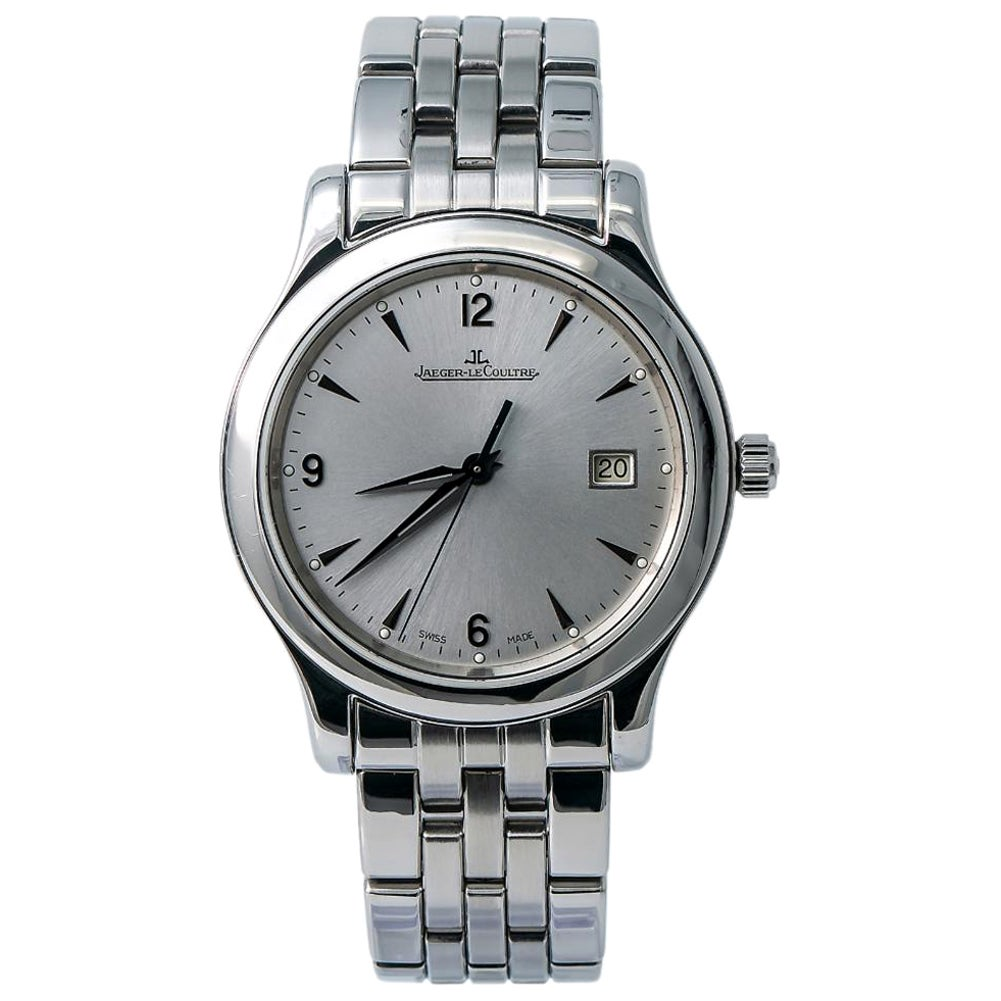 Jaeger-LeCoultre Master Control 147.8.37.S, Silver Dial