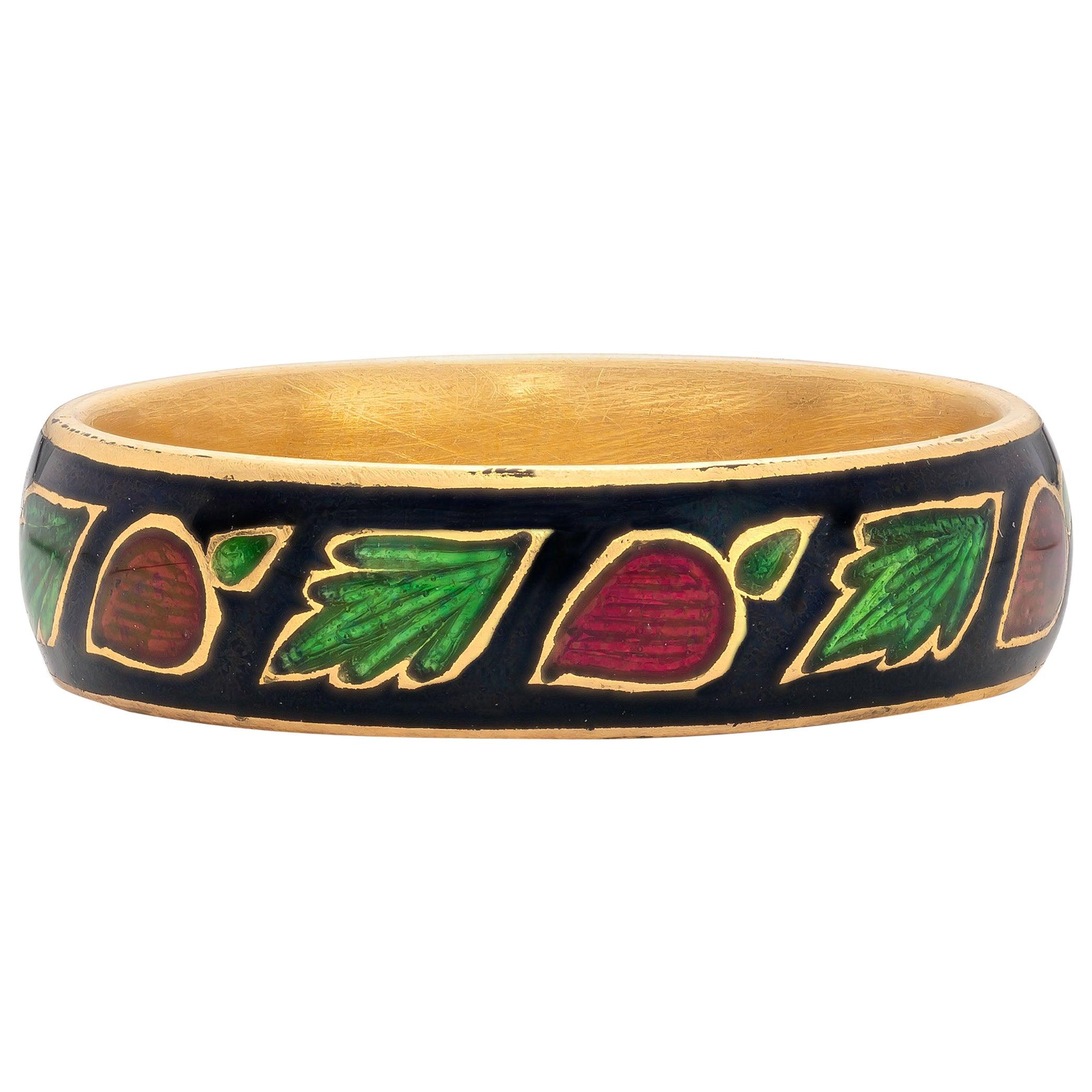 Angarika Ring, 22 Karat Yellow Gold