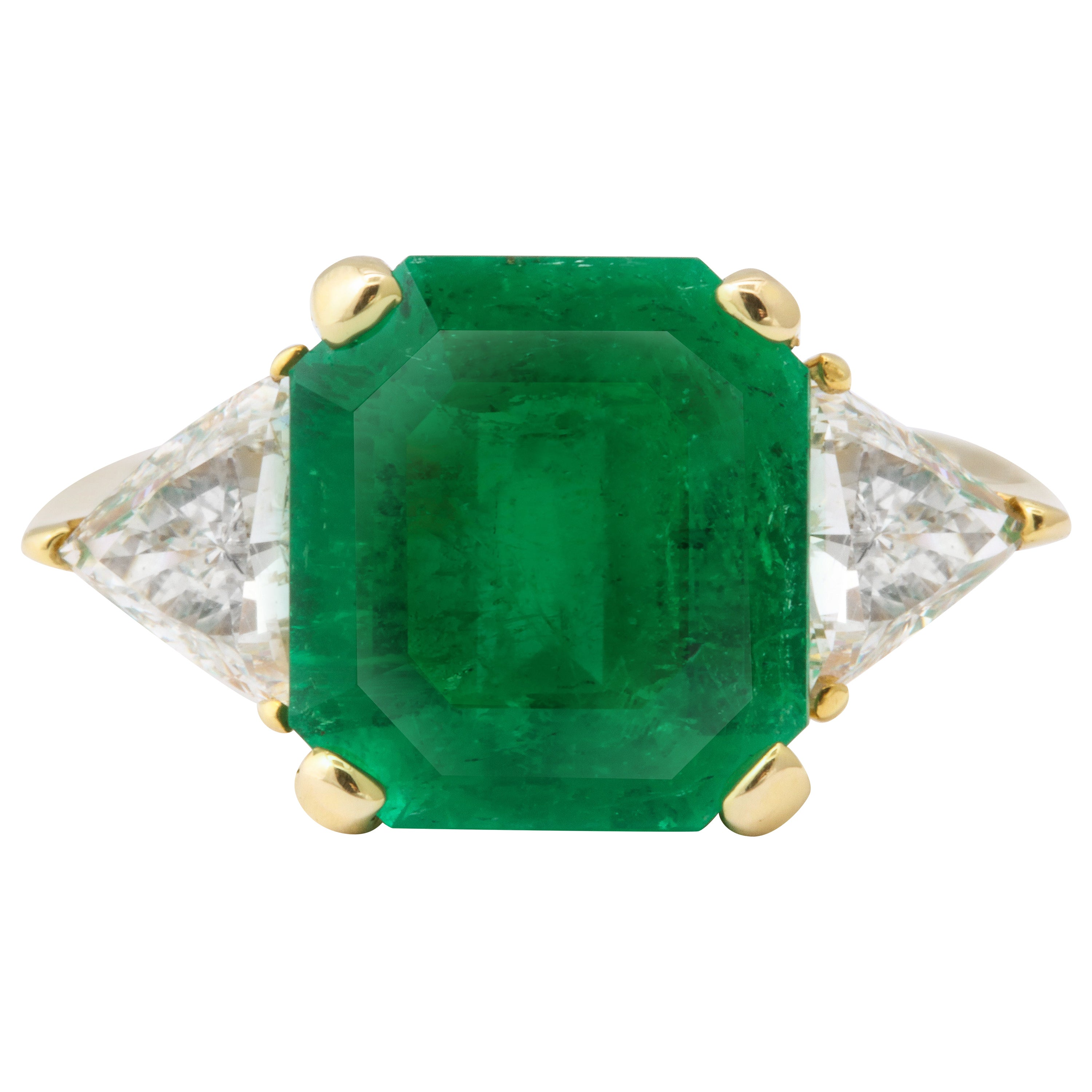 5 Carat Colombian Emerald Ring