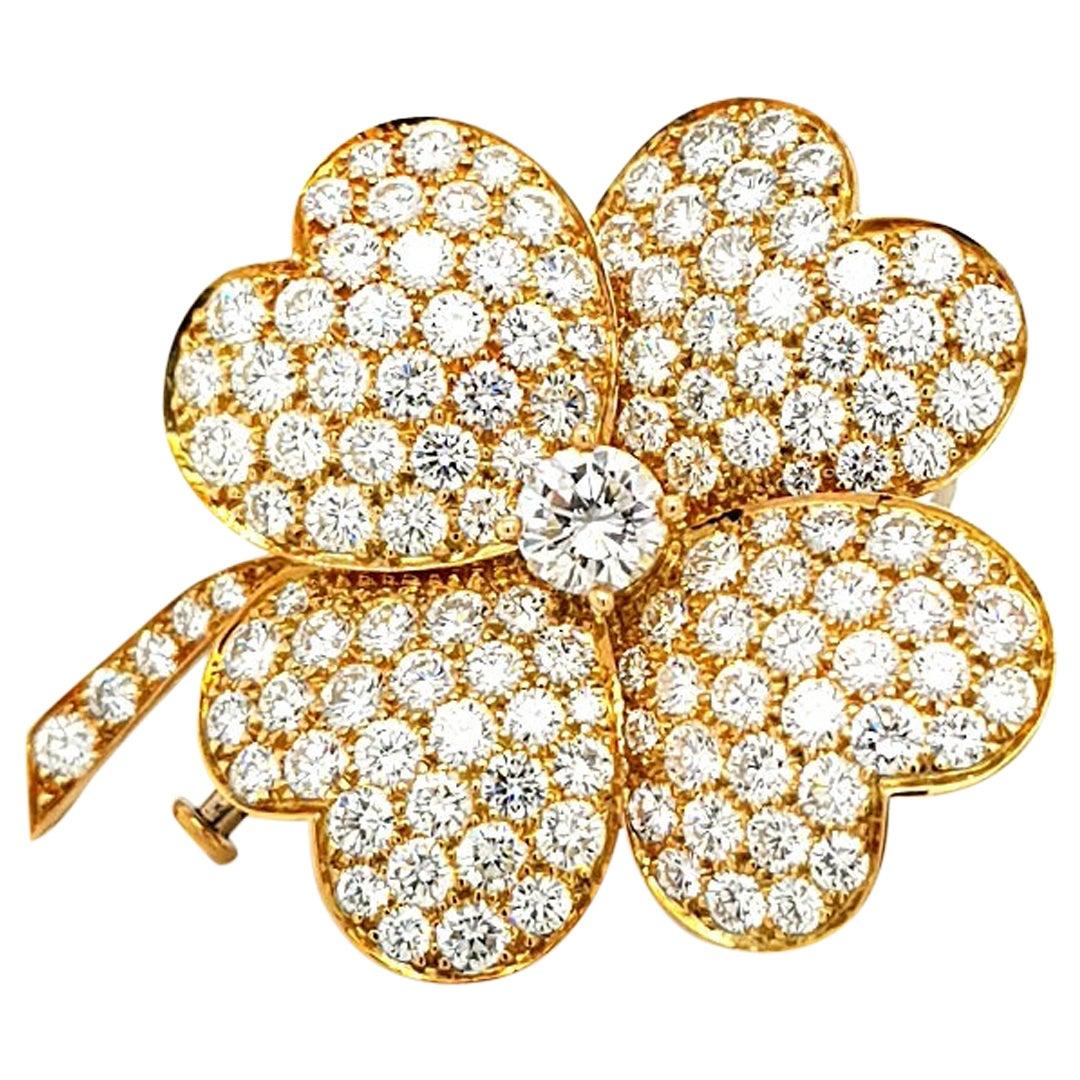 Van Cleef & Arpels Cosmos Diamond Pendant or Brooch