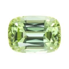 Green Tourmaline Ring Gem 5.10 Carat Loose Unset
