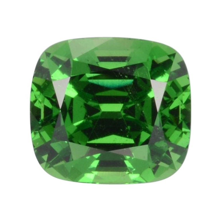 Tsavorite Ring Gem 3.18 Carat Loose Gemstone