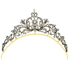 Victorian Diamond Tiara c.1890