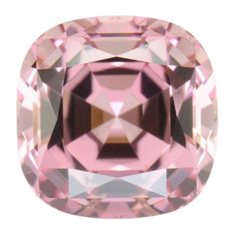 Pink Tourmaline Ring Gem 7.82 Carat Unset Loose Gemstone