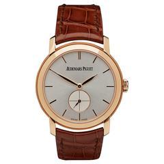 Audemars Piguet Jules Audemars Lady's Rose Gold Wristwatch