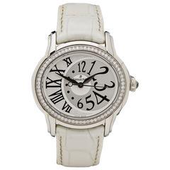 Audemars Piguet Lady's Stainless Steel Diamond Millenary Wristwatch
