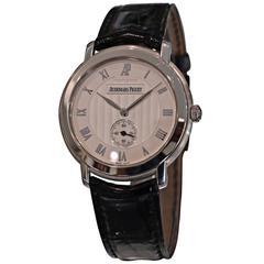 Audemars Piguet Jules Audemars Ladies White Gold Small Seconds Manual Wristwatch
