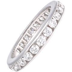 Tiffany & Co. Diamond Platinum Eternity Band