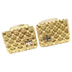 Vacheron Constantin Gold Platinum Cufflinks