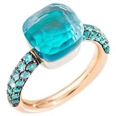 Pomellato Nudo Deep Blue Ladies Ring A.B904O6OYTTP