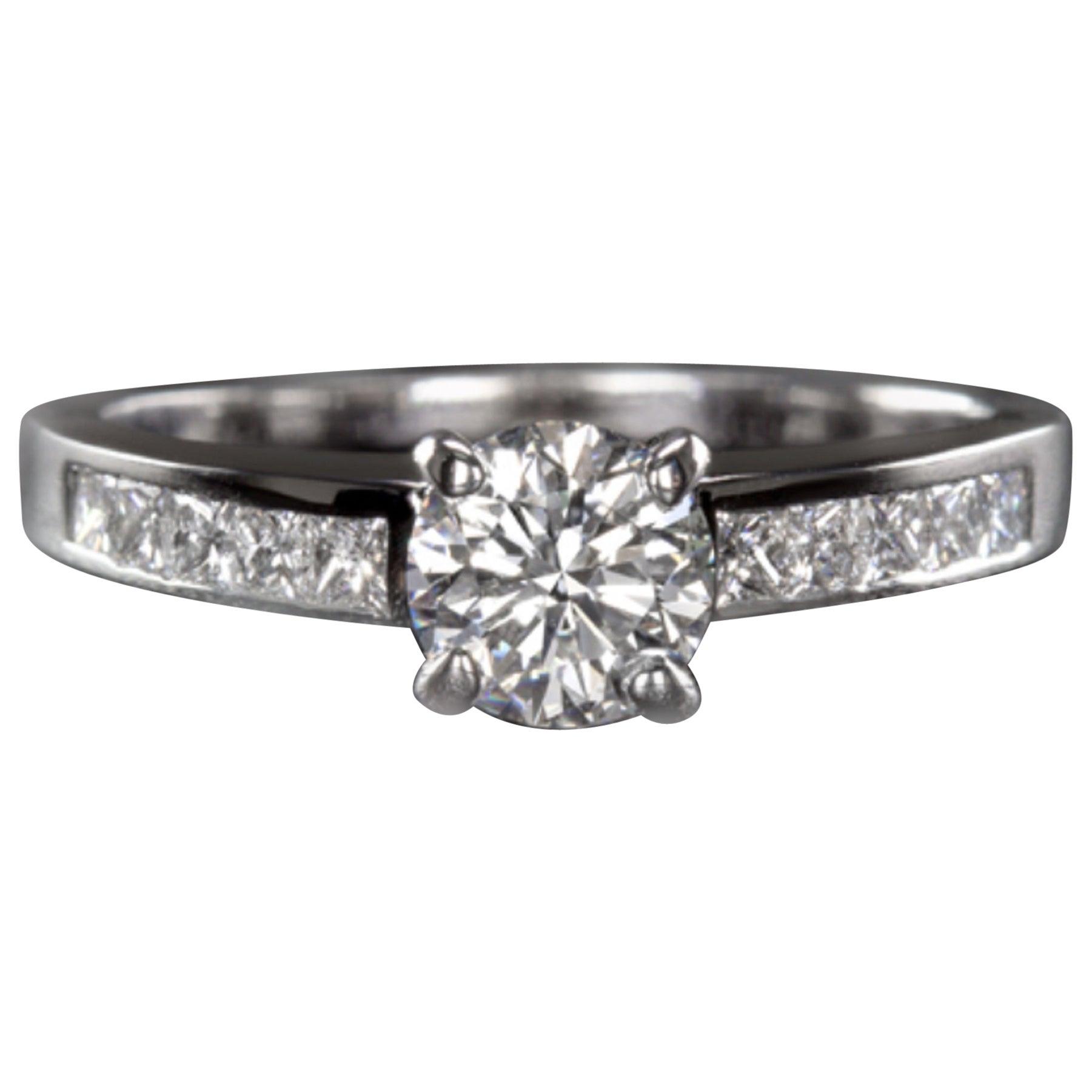 EGL Certified 1.20 Carat Engagement Ring