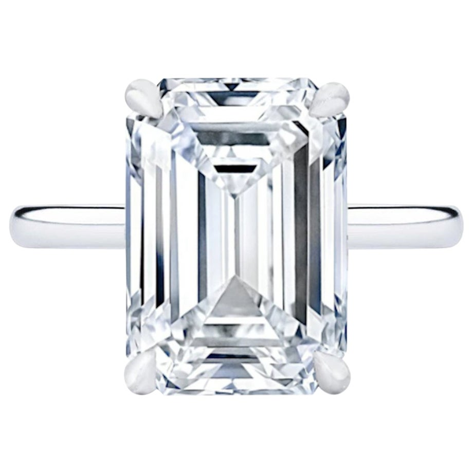 GIA Certified 3 Carat VVS Clarity F Color