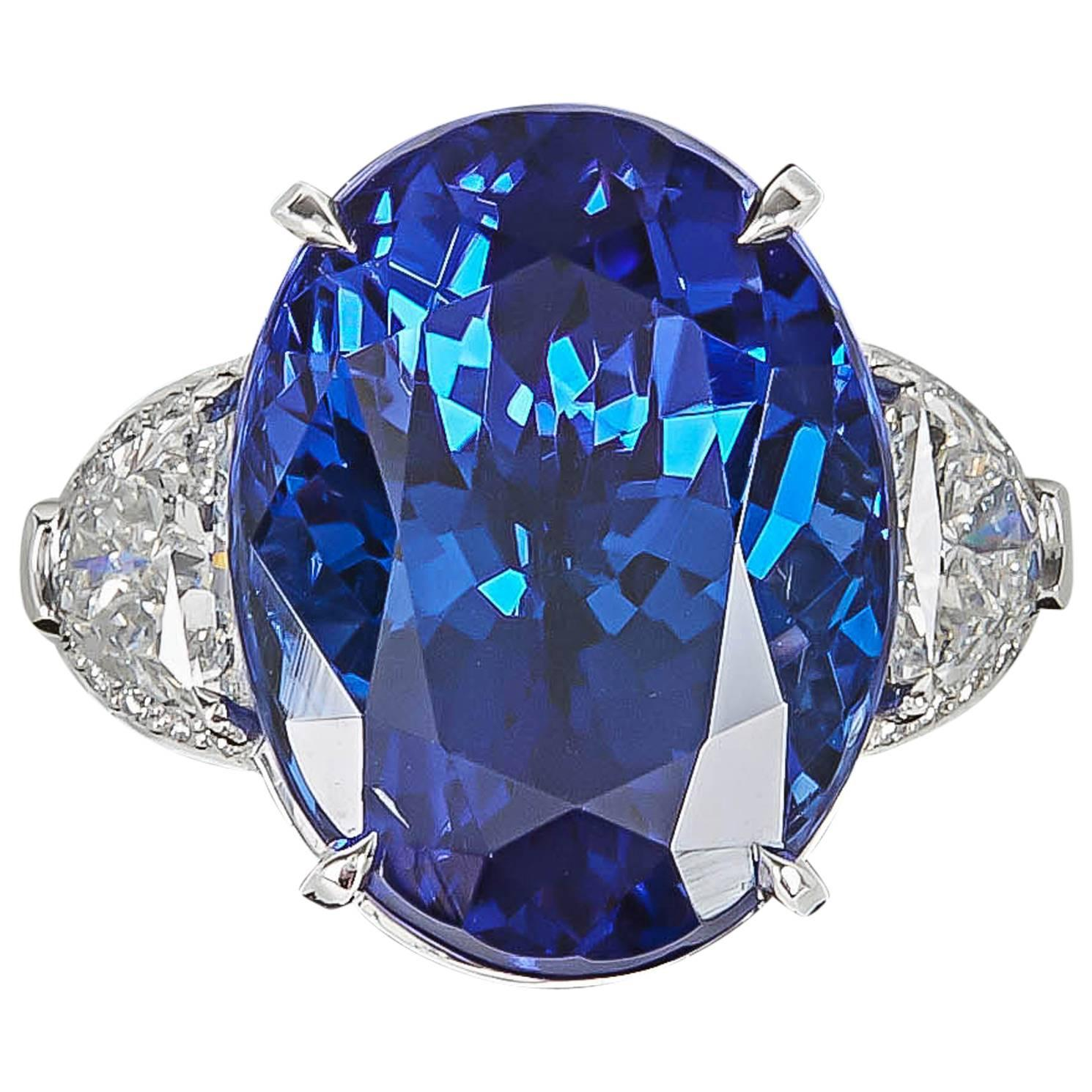rings lichfield diamond modern classic styles royal cut ring engagement sapphire blue the london