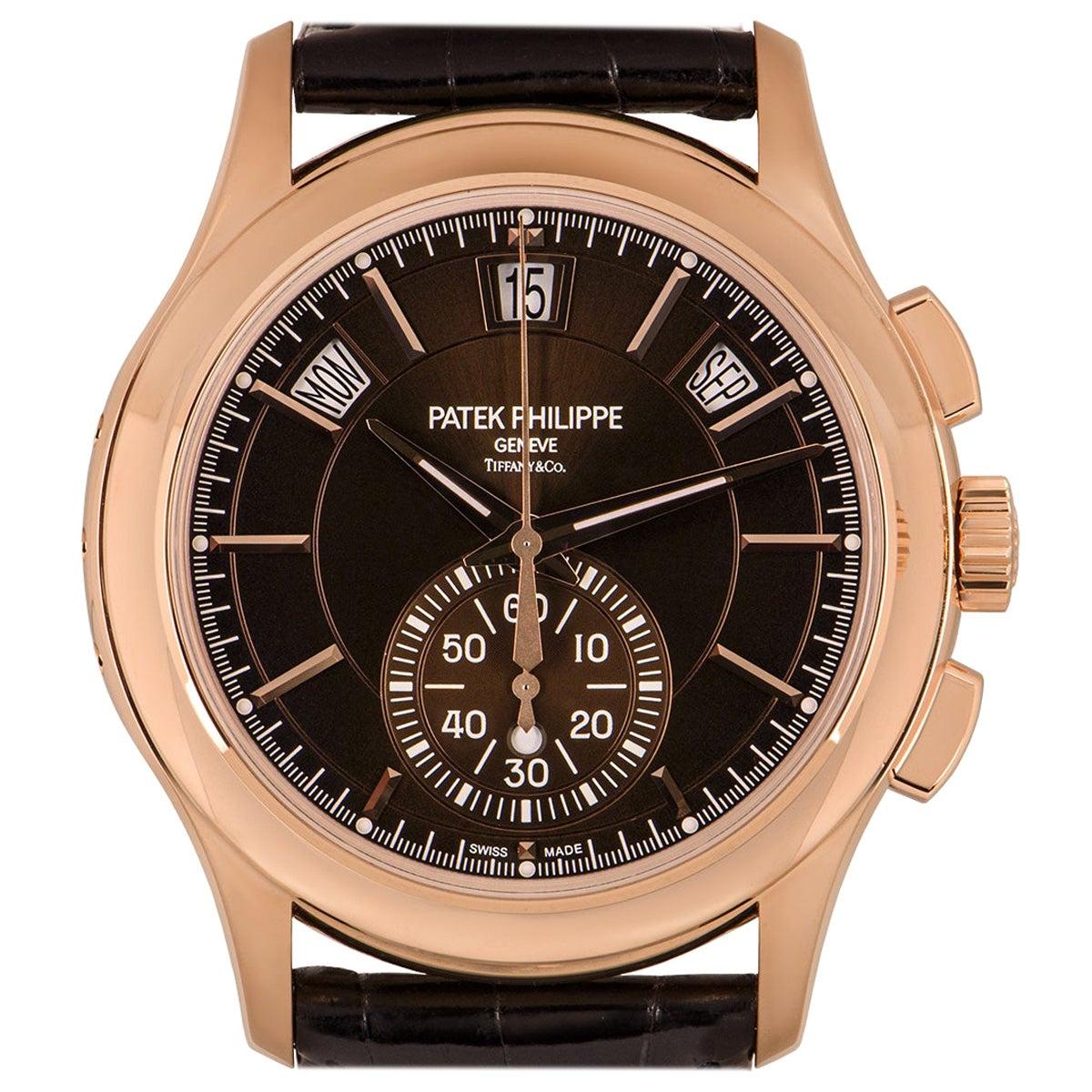 Patek Philippe Unworn Complications Annual Calendar Tiffany & Co. Dial 5905R-001
