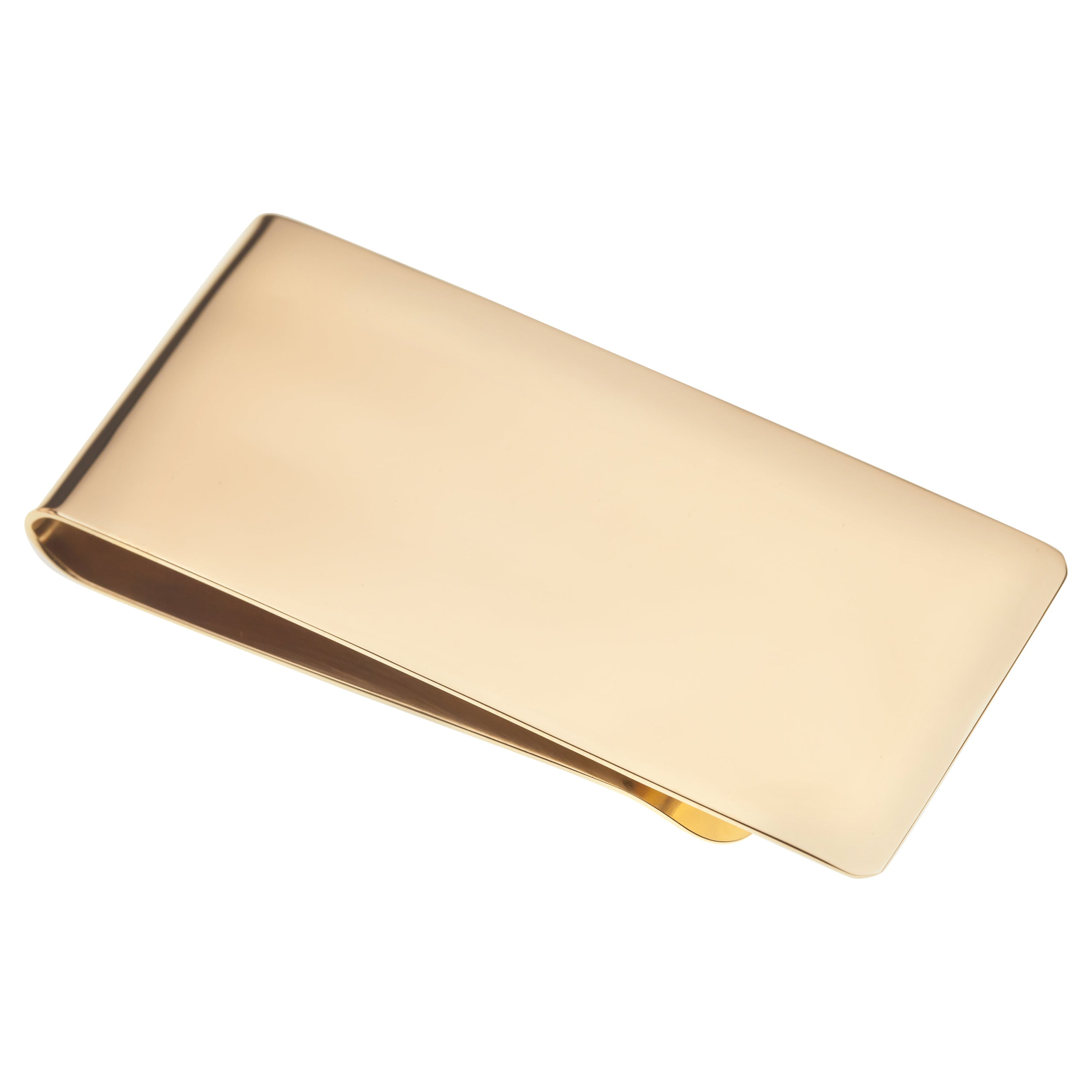 Tiffany & Co. Vintage Heavy Money Clip in Yellow Gold