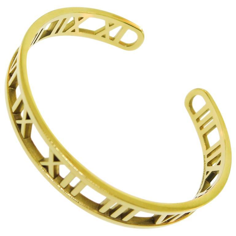 Tiffany & co. gold Atlas Cuff Bracelet 1