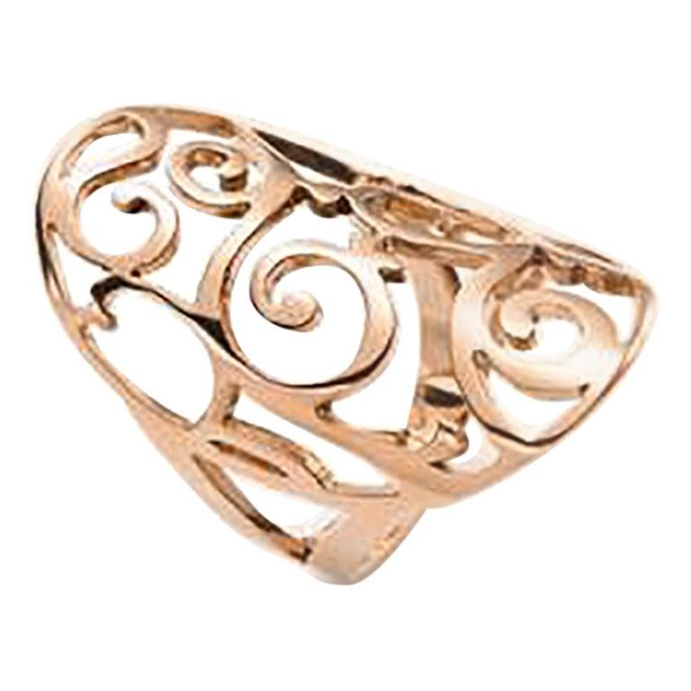 Mattioli Siriana Ring in 18 Karat Rose Gold