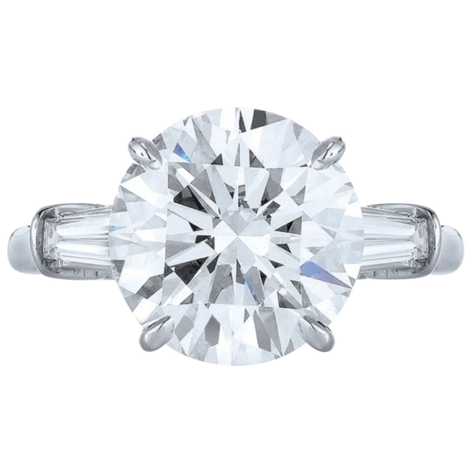 GIA Certified 2.50 Carat Engagement Ring