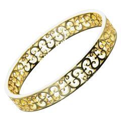 Tiffany & Co. Enchant gold Bangle bracelet