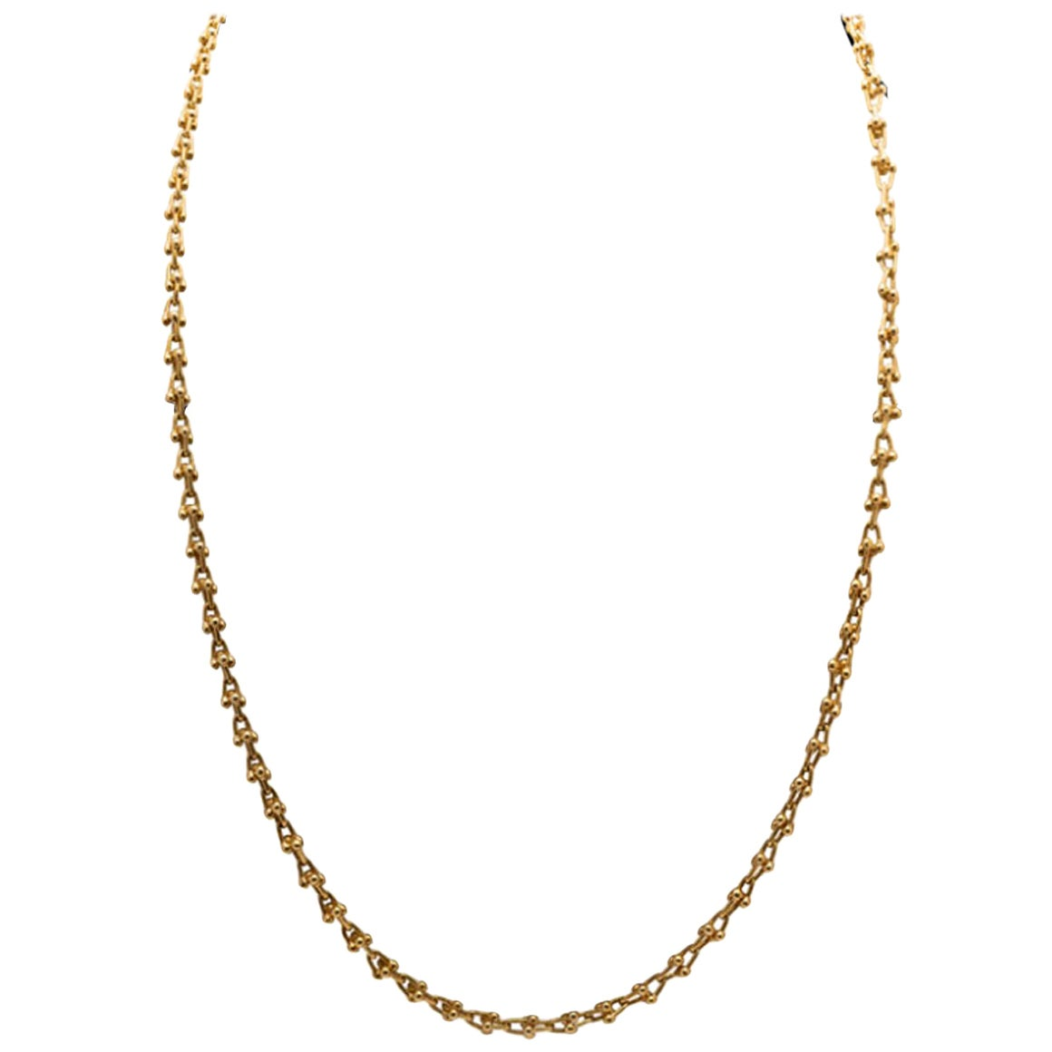 Bulgari Vintage Yellow Gold Sautoir Necklace