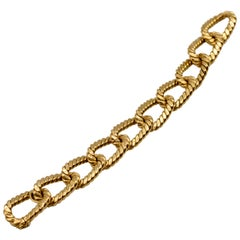 Italian 18 Karat Gold Nautical Motif Bracelet