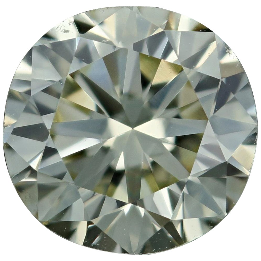 Loose Diamond, Round Brilliant Cut 1.26 Carat GIA W-X VVS2 Solitaire