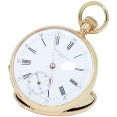 Patek Philippe Geneve yellow Gold Pocket Watch