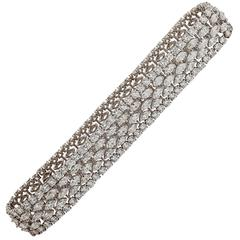 Graff Stunning Diamond platinum Choker Necklace