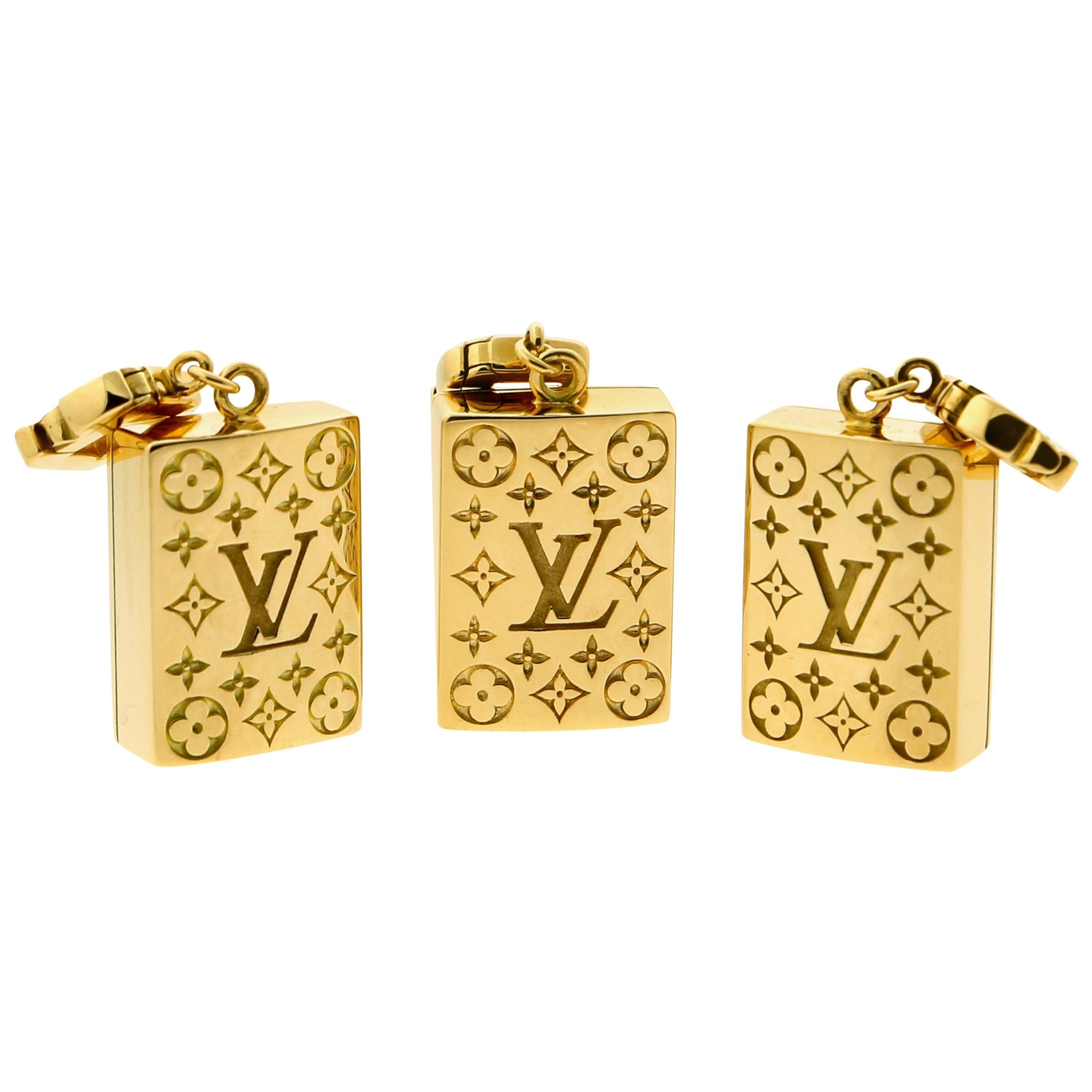 Louis Vuitton Limited Edition Mahjong Tile Gold Set