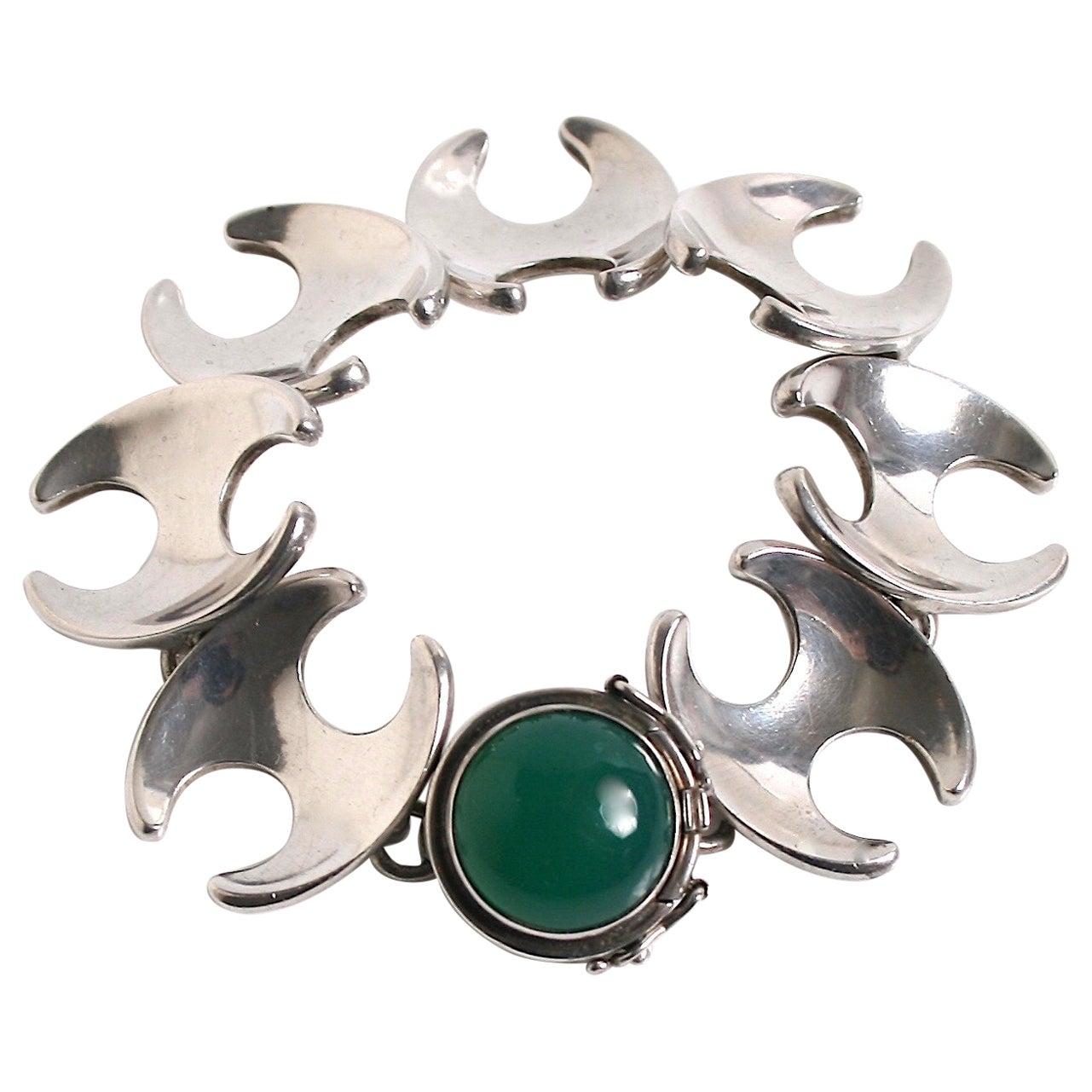 Georg Jensen Bracelet Designed by Henning Koppel, Denmark