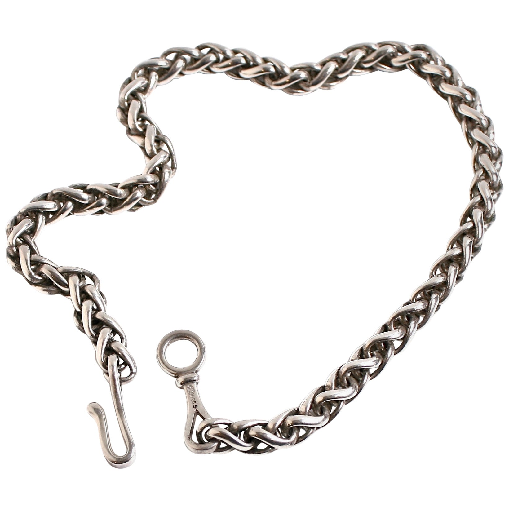 Georg Jensen Sterling Silver Chain Necklace