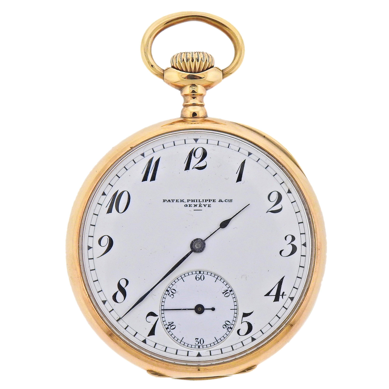 Patek Philippe Antique Gold Pocket Watch