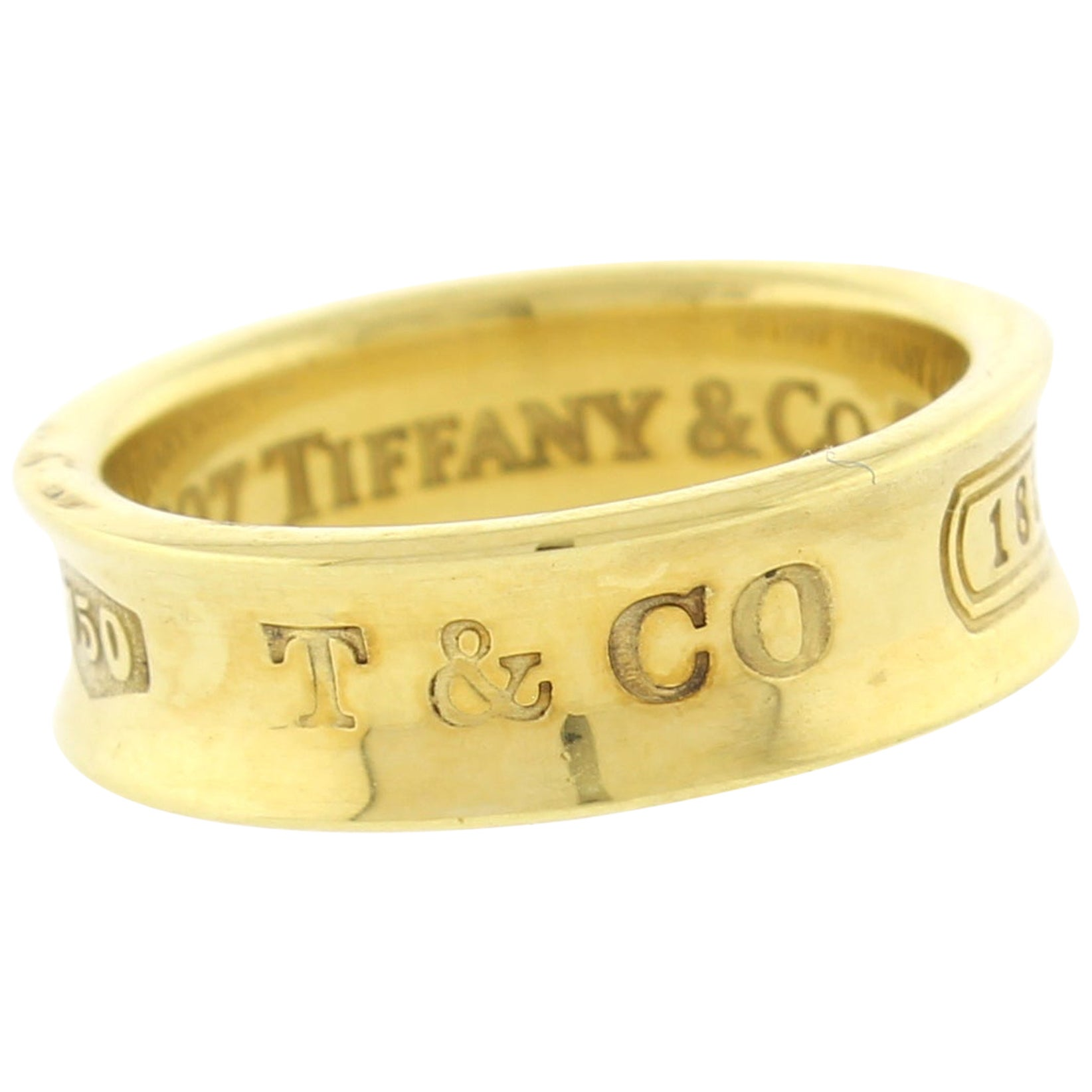 Tiffany & Co. 1837 Gold Band-Ring