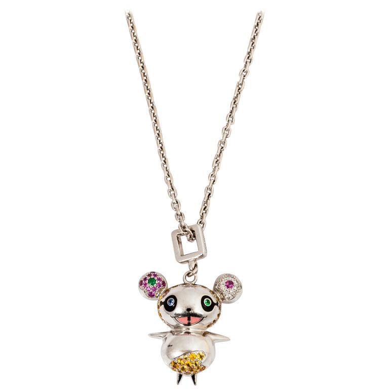 Louis vuitton takashi murakami gold diamond panda pendant charm for louis vuitton takashi murakami gold diamond panda pendant charm for sale aloadofball Gallery