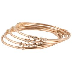 Code by Edge 'LOVE' stacking bangles