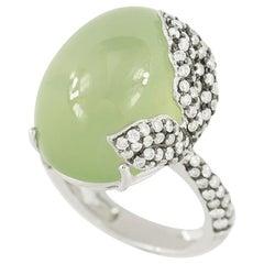 Classic Diamond Prenit White Impressive Ring for Her