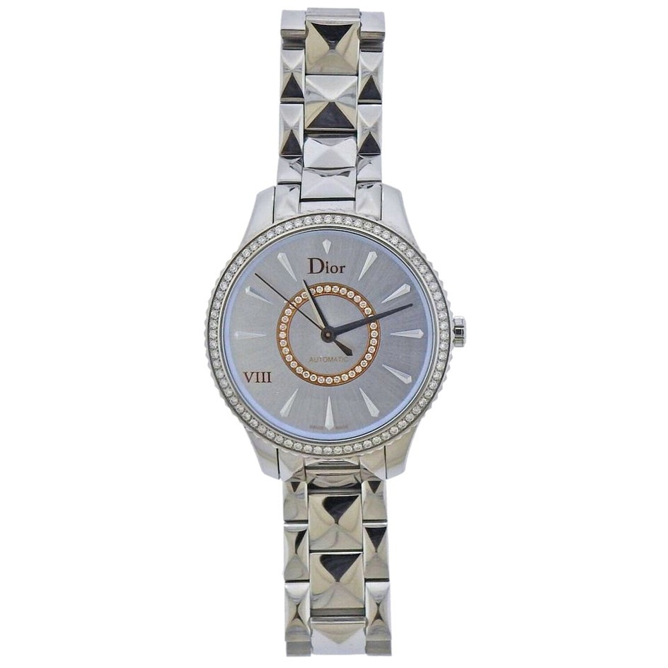 Dior VIII Diamond Automatic Watch CD153510M001