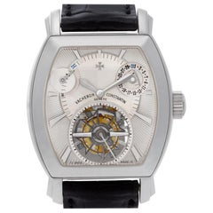 Vacheron Constantin Malte Tonneau Tourbillon 30066/2 Platinum Silver Dial