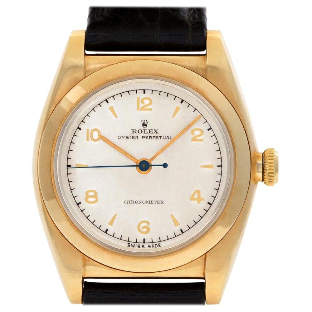 Rolex Oyster Perpetual 3131 14 Karat Manual Watch