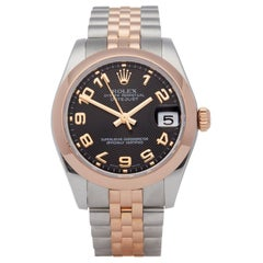 Rolex Datejust 31 178241 Ladies Stainless Steel and Rose Gold Watch