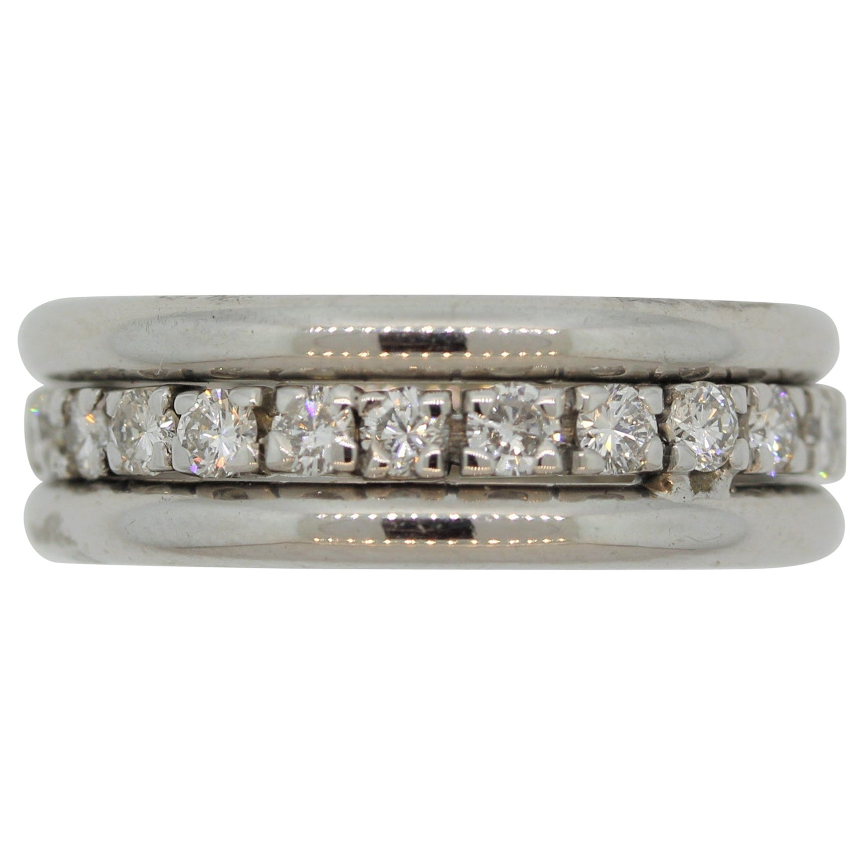 Diamond Gold Eternity Ring Band